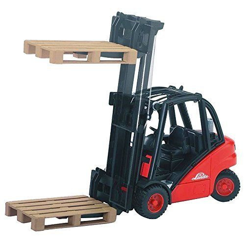Linde H30D fork Lift with Pallet - Fade-resistant High-quality ABS Plastic