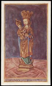"""santino-holy card""""OL VROUW TER LINDE-UDEN"""