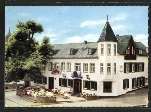 alte AK Rengsdorf, Hotel zur Linde 1966