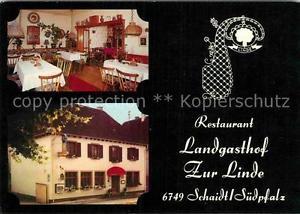 72882045 Schaidt Restaurant Landgasthof Zur Linde Woerth am Rhein
