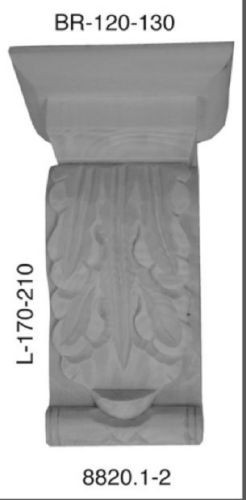 Holz Kapitell Linde Schrank Kommoden Ornament