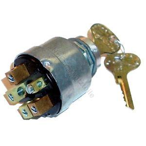Zündschloss E30 für Linde (5 Pin, 4 Stellungen, Länge: 65 mm)