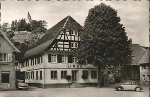 41205332 Kappelrodeck Gasthof Linde Kappelrodeck