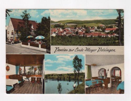 D 05-6604 Pension zur Linde in Polsingen 1971