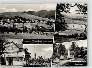 52058259 - Fischbach b Gotha, Thuer Gasthaus zur Linde Inselberg Kuranlagen Berg