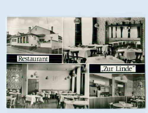 W9F65/ Oppenheim Kessel / Eichner Restaurant Zur Linde AK