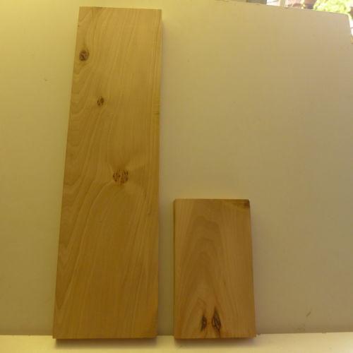 LINDE Schnitzholz 2 schöne Stücke, Bohlen Abschn.sehr alt, lufttrocken