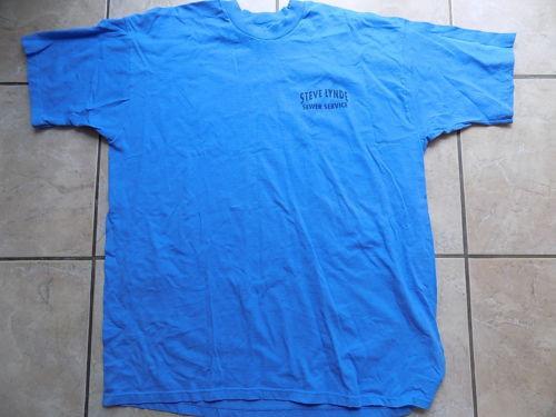 Steve Linde Sewer Service & Portable Toilets T-Shirt, XXL, Berlin, MA, VGUC
