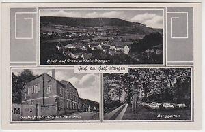 06642 Groß-Wangen Gasthof zur Linde Berggarten