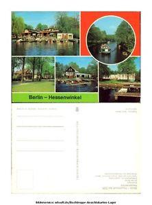 ak9462 Berlin - hessenwinkel - Bootshaus - An der Spree - Einkaufszentrum Linde