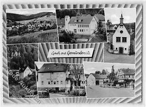 39120567 - Gemuenden mit Gasthaus Linde gelaufen. Gute Erhaltung.