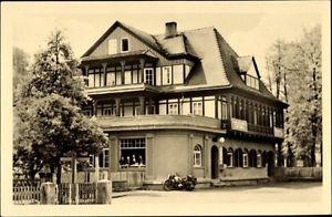 Ak Sitzendorf an der Schwarza in Thüringen, HO Hotel Zur Linde - 1584428