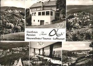 72128776 Neuweilnau Ortsansichten Gasthaus Pension Zur Linde Gaststube Weilrod
