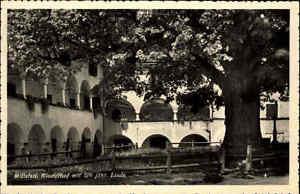 Millstatt am See Österreich Kärnten AK 1962 Klosterhof Hof Kloster Linde Baum