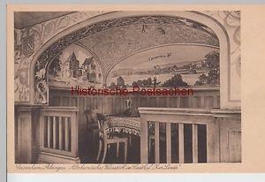 """(100852) AK Geisenheim, Altrheinisches Weinstübl im Gasthof """"Zur Linde"""", vor 194"""