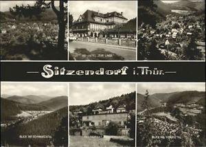 70841528 Sitzendorf Thueringen Sitzendorf Hotel Linde Restaurant Bergterasse  *