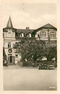 42982307 Finsterbergen Volkshaus Hotel zur Linde VEB Finsterbergen