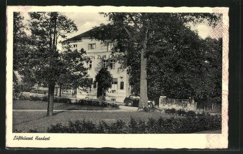 alte AK Rengsdorf, Hotel zur Linde