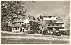 71510497 Hinterzarten Hotel Pension zur Linde Hinterzarten