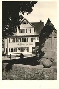 41213524 Wart Altensteig Gasthaus Pension Linde Altensteig
