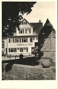 41213520 Wart Altensteig Gasthaus Pension Linde Altensteig