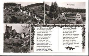 40759607 Berneck Altensteig Berneck Altensteig Kurhaus Linde Gedicht * Altenstei