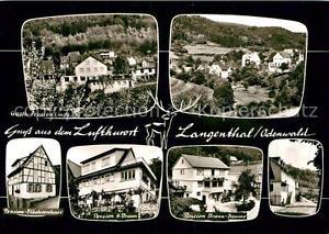 42951368 Langenthal Odenwald Gasthof Pension Linde Pension Flaechsenhaar Pension