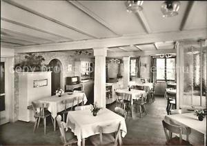41768140 Kappelrodeck Gasthof zur Linde Speisesaal Kappelrodeck