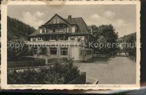 41462424 Sitzendorf Thueringen Dorfstrasse Hotel zur Linde Sitzendorf Schwarzata