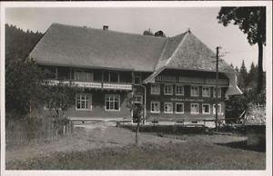 40809317 Menzenschwand Menzenschwand Gasthaus Fremdenheim zur Linde * St. Blasie