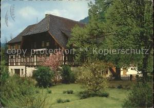 71604029 Gutachtal Schwarzwaldbahn Gasthof Pension Linde Gutach