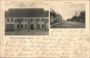 Ak Brück in Brandenburg, Gasthof zur grünen Linde, Gustav... - 1278948