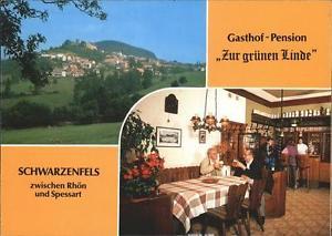 41254912 Schwarzenfels Gasthof Pension Gruene Linde Sinntal