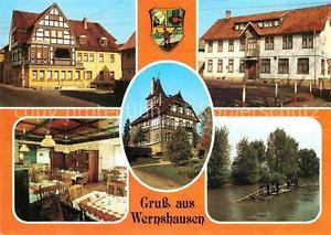 72667546 Wernshausen Eiscafé Rat der Gemeinde Gasthaus zur Linde  Wernshausen