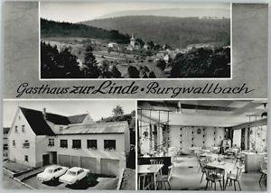 40242414 Burgwallbach Burgwallbach Gasthaus zur Linde * Schoenau a.d.Brend
