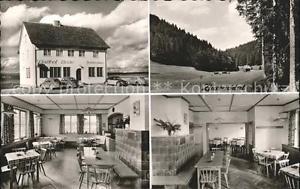 41768175 Spielberg Altensteig Gasthof zur Linde Gastraum Waldpartie Bromsilber A