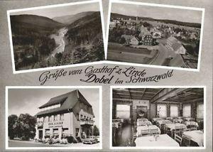 40764284 Dobel Schwarzwald Dobel Wuerttemberg Gasthof Pension Linde * Dobel