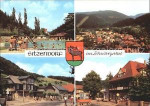 72319886 Sitzendorf Thueringen Schwimmbad Erholungsheim Hotel zur Linde Sitzendo