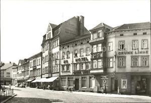 72084130 Muehlhausen Thueringen HO Gaststaette Gruene Linde Thomas Muentzer Stad