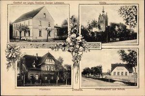 Ak Drewitz Möckern Jerichower Land, Gasthof zur Linde, Bes. Gustav... - 1454786