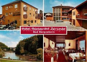 42977258 Bad Bergzabern Hotel Restaurant Zur Linde Gaststube Weiher Bad Bergzabe