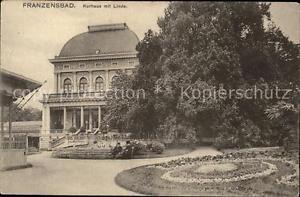 11602541 Franzensbad Boehmen Kurhaus Linde Frantiskovy Lazne