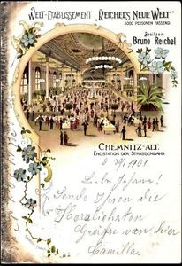 Litho Chemnitz Sachsen, Konzert und Ball Etablissement Linde,... - 1144191