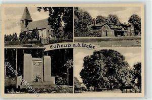 52334741 - Eystrup Kirche Bahnhof Linde Kriegerdenkmal