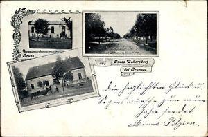 Ak Groß Woltersdorf bei Gransee, Gasthof zur Linde, Adolf Peter,... - 1437619