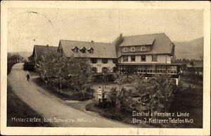 Ak Hinterzarten im Südschwarzwald, Gasthof und Pension zur Linde,... - 1325052