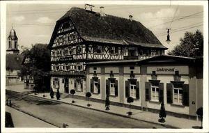 Ak Oberkirch in Baden Württemberg, Gasthof zur oberen Linde, Bes.... - 1075878