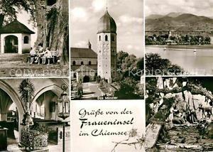 72898729 Fraueninsel Chiemsee Muenster Grabmal Irmengard Krippe Kapelle Linde  C