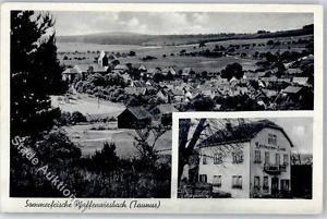 51413029 - Pfaffenwiesbach Gasthaus zur Linde Posthilfsstellenstempel  Preissenk