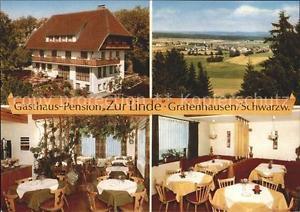 41806665 Grafenhausen Schwarzwald Gasthaus Pension Zur Linde Grafenhausen